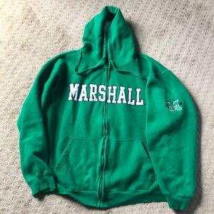 Other - Marshall University zip hoodie